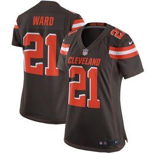 Women's Cleveland Browns Denzel Ward Jersey